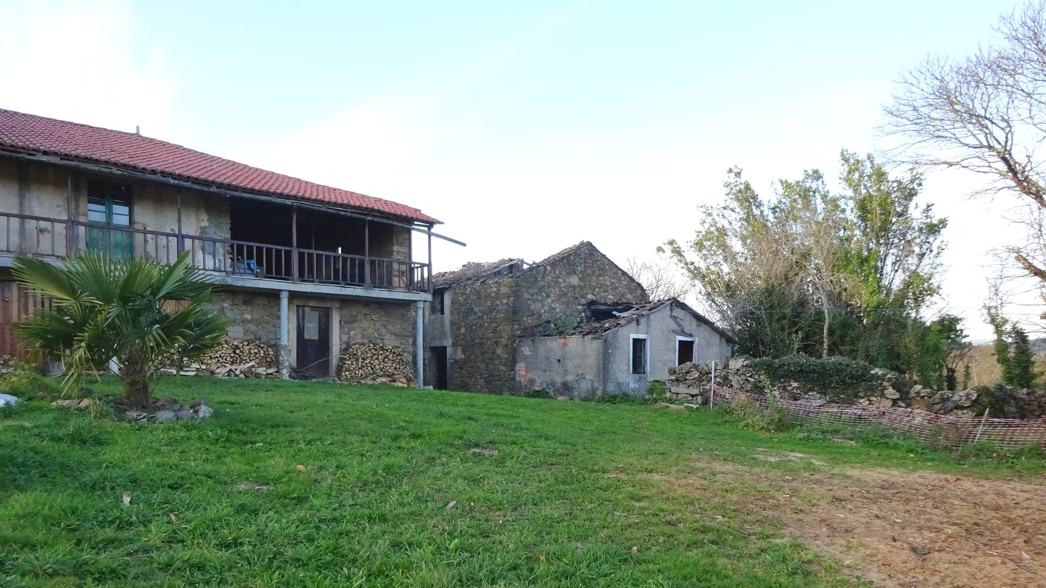 Emprazamento da antiga igrexa parroquial de San Paio de Niñodaguia