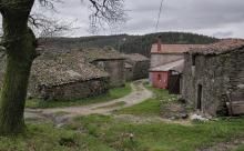 Conxunto de arquitectura popular en Castiñeiroa